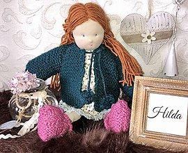 Bábiky - Bábika Hilda - 10465099_