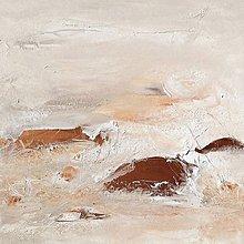 Obrazy - Bronzová hora, 70x70 - 10466487_