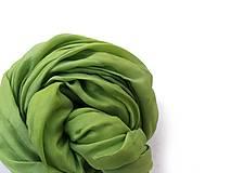"""Šály - """"spring green"""" hodvábny šál (pléd, štóla) SKLADOM:-)... - 10464533_"""
