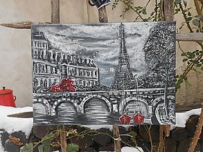 Obrazy - V meste lásky - 10466115_