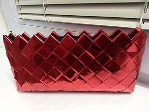 Kabelky - Lesklá červená... :) - 10467624_