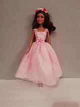 Hračky - Šaty pre bábiku Barbie - 10471136_
