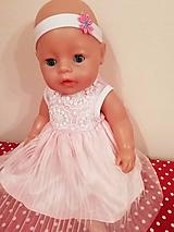 Hračky - Šaty pre bábiku Baby born v 43 cm - 10471141_