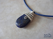Ligeia - lapis lazuli, wire wrapping