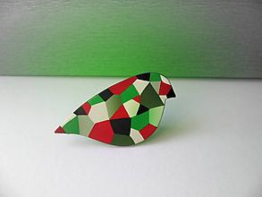 Odznaky/Brošne - ,,Jágapap-zelený,, - 10471066_