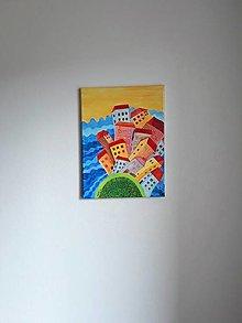 Obrazy - Obraz krajiny -  La Habana, mesto, 30 x 40 cm - 10469715_