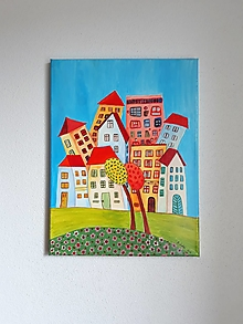 Obrazy - Obraz : Mesto, 30 x 40 cm - 10469782_