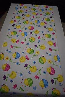 Úžitkový textil - VELIKONOČNÍ BĚHOUN  ...kuřátka - 10469634_