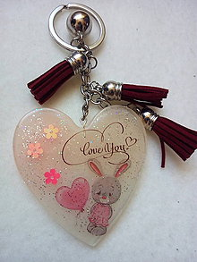 Kľúčenky - Prívesok srdce - 10468732_