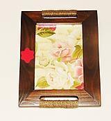 Vintage rámik ruže