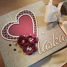 Darčeky pre svadobčanov - Obálka na peniaze - 10470887_
