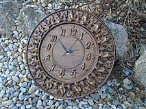 Hodiny - hodiny s hroznom 1. - 10470694_