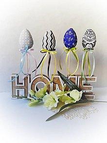 Dekorácie - Veľkonočný zápich - vajíčka I. - 10469561_