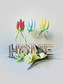 Dekorácie - Jarný zápich - tulipány I. - 10469583_