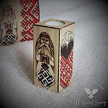 Svietidlá a sviečky - Svietnik Perún - 10468186_