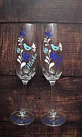 Svadobné poháre Folk 2