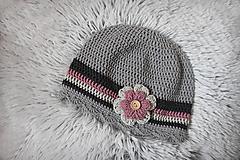 Detské čiapky - prechodná čiapočka - 10470851_