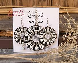 Sady šperkov - Mandala gothic // set - 10471083_