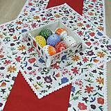 Úžitkový textil - DANA - stredový obrus 40x40 - 10468033_