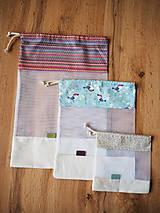 Úžitkový textil - Sada vreciek na potraviny - 10470498_