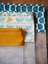 Úžitkový textil - Sada vreciek na potraviny - 10470509_