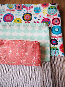 Úžitkový textil - Sada vreciek na potraviny (Ružová) - 10470505_