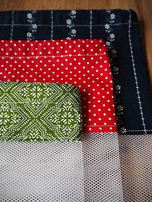 Úžitkový textil - Sada vreciek na potraviny (Zelená) - 10470507_
