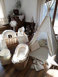 Textil - Sada pre bábätko - hniezdo - 10468556_
