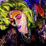 Obrazy - Pop Art obraz Madonna  - 10471151_