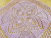 Úžitkový textil - Ananásiková vo fialovej - 10470687_