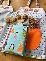Hračky - Quiet book, strana izba pre bábiku - 10471205_