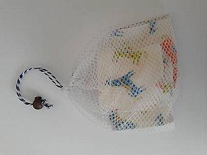 Úžitkový textil - Sada odličovacích tampónov 7 ks *Koník* - 10468057_