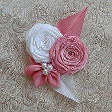 Pierka - Pierko pre ženícha v púdrovej - 10475040_