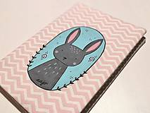 Hračky - Zápisník so zajačikom - 10474323_