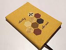 Papiernictvo - Zápisník pre milovníkov medu - 10474331_