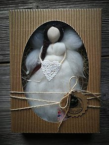 Dekorácie - Anjelinka v darčekovom baleni - 10473479_