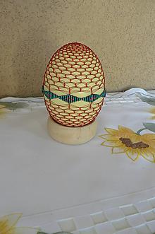 Dekorácie - Opletané NANDU kraslice - 10474134_
