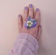 """Prstene - Kvetinový prstienok """"Harmony"""" - 10472410_"""