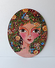 Obrazy - Jessy, acryl  24 x 30 cm - 10474659_