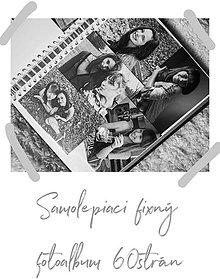 Papiernictvo - Fotoalbum  (samolepiaci 60 strán A4 (strany fixné)) - 10473015_