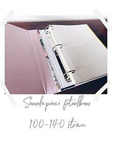 Papiernictvo - Fotoalbum  (samolepiaci 120 strán A4 (strany sa dajú dopĺňať)) - 10473020_