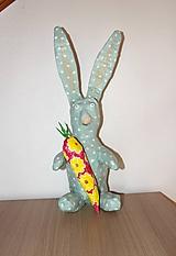 Dekorácie - veľkonočný zajac - 10472288_