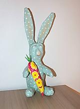 Dekorácie - veľkonočný zajac - 10472296_