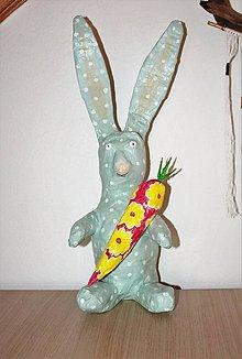 Dekorácie - veľkonočný zajac - 10472299_