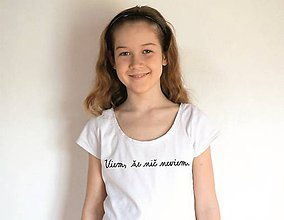 Tričká - tričko do školy - 10475157_