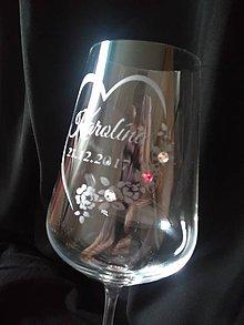 Iný materiál - Svadobné čaše...rôzne druhy - 10473244_