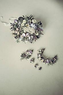 Náušnice - Náušnice Violet - 10472656_