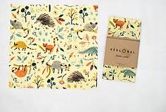 Úžitkový textil - Sir Rožok 26 x 26 cm (Madagaskar) - 10474866_