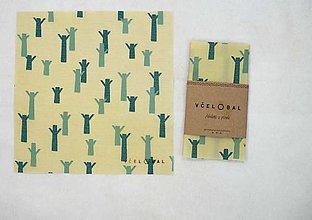 Úžitkový textil - Sir Rožok 25 x 25 cm (...boli lesy) - 10474884_