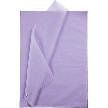Obalový materiál - Hodvábny papier fialový 50x70 cm - 10 ks - 10473506_